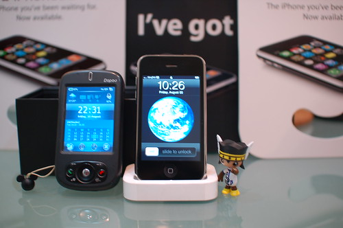 iPhone3G and Dopod 818Pro
