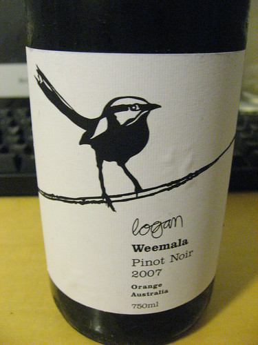 Logan Weemala Pinot Noir 2007