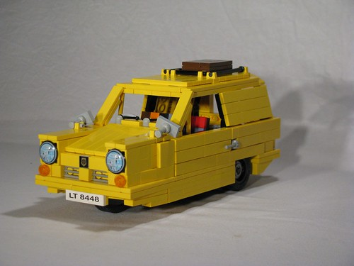 Rodney Trotter|Reliant Regal Supervan Reliant Regal Supervan