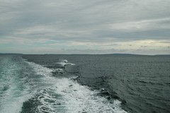 Looking Back toward Inishmore