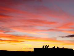 Paseos Castelln (Colores) (Quique Lpez) Tags: espaa contraluz formas sombras castellon morella