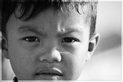 Kid close up