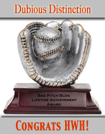 bad pitch award