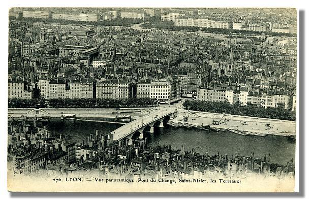 276 LYON - Pont du Change