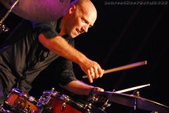 Stphane FOUCHER / Eric Prost Quartet (laurenthuephoto) Tags: festival drums nikon jazz bretagne batteur livepics avishaicohentrio laurenthuephoto malguenac stephanefoucher