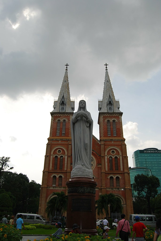 Catedral de Notre Dame en Saigón