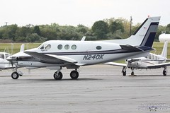 N240K (PHLAIRLINE.COM) Tags: plane king aviation air flight airline planes beech trenton bizjet ttn b90 trentonmercerairport n240k merlinassociates