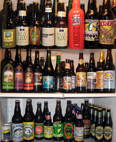 Sept 2008 beer fridge snapshot