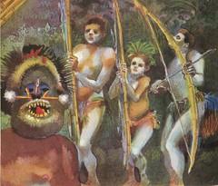 robinson crusoe, illustrazione interna (sergiopictures) Tags: book books libri adventures avventure