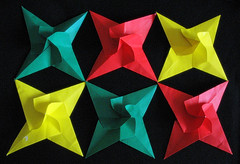 Modules for spiral star (priti hansia) Tags: origami paperfolding