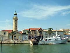 le Grau du Roi (Vins 64) Tags: grau du le bateau phare peche gard roi camargue francelandscapes