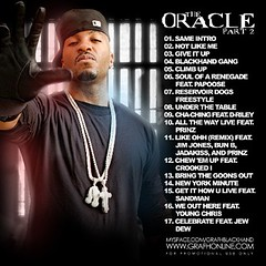 DJ Green Lantern & Grafh - The Oracle 2 mixtape tracklisting
