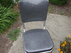 CHAIR:  after (stinkycretingurl) Tags: thrift recycle remake reuse redo thrifted upcycle thriftstoreredo kuehnekhrome