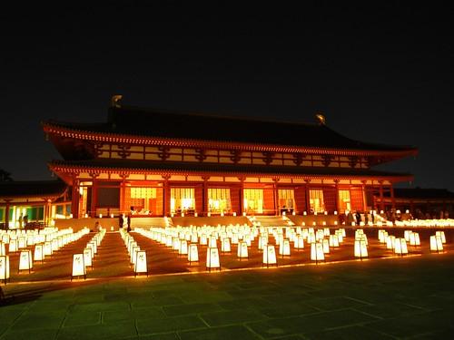 薬師寺(万燈会・夜)-12