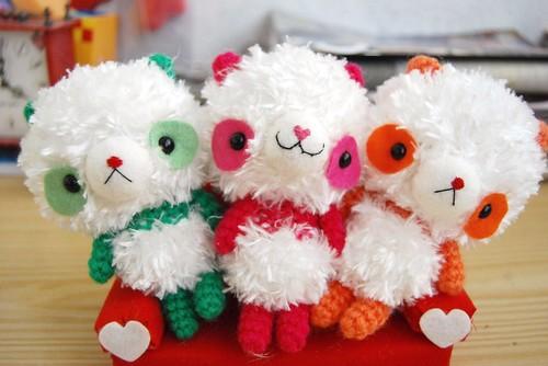 Happy pandas!!