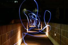 Light Trails (vanshnookenraggen) Tags: light lamp night photography cool badass trails torch flashlight trippy streaks wavy lednight