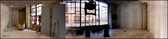 Bushwick Loft (justiNYC) Tags: nyc loft space panoramic commercial bushwick troutman loftninja