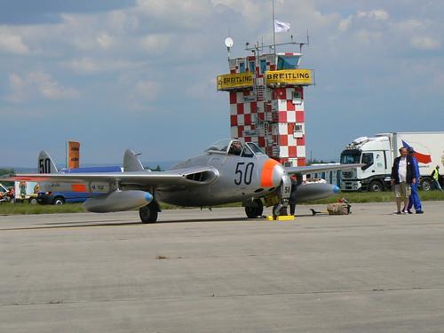 Warbird picture - de Havilland DH.100 Vampire