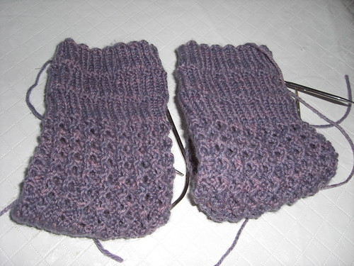 Mystery Sock Clue 2 - the legs