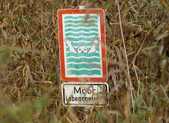 Drowning is Prohibited! (Corinna John) Tags: nature sign warning natur hannover schild swamp moor warnung sumpf laatzen creativecomments teufelskuhle