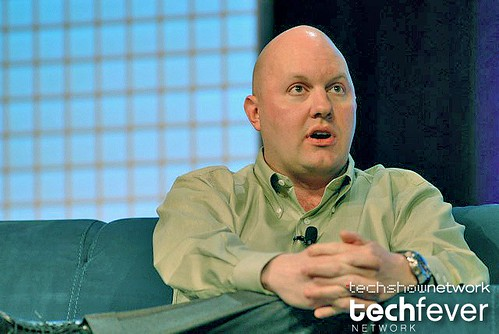 Marc Andreessen, internet pioneer and founder of Netscape at Web 2.0 Expo in San Francisco, CA by TechShowNetwork.