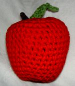 Bag of Crocheted Fruit.... Yummm -3 Day Auction