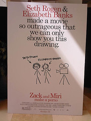 Movie Poster for Zack & Miri Make a Porno