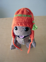 Hats for a Sack (ilikelemons) Tags: hat knitting sony yarn zipper mediamolecule littlebigplanet sackboy
