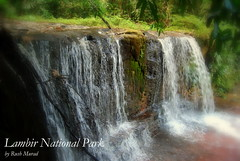 Waterfall at Lambir Park (Rush Murad) Tags: water forest river waterfall miri jungle sarawak malaysia lambir