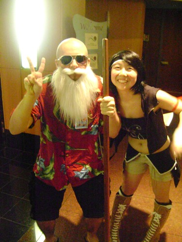 Dragon Ball Master Roshi Cosplay Fotos
