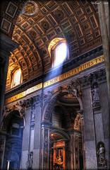 llum (Seracat) Tags: light italy vatican rome roma luz church italia cathedral lumière catedral iglesia vaticano italie myfavs llum església vaticà specialtouch