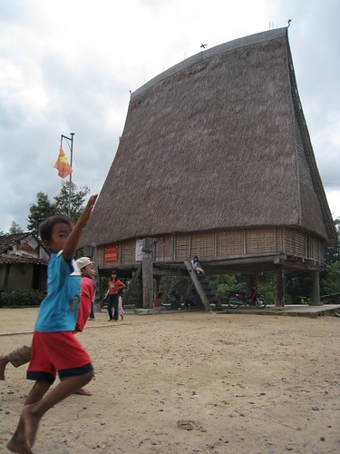 Kon Tum Village rong house