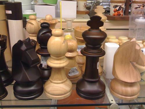 Chess Pepper Mills