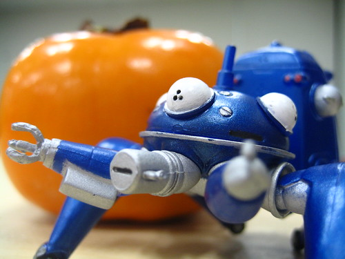 Tachikoma and the persimmon