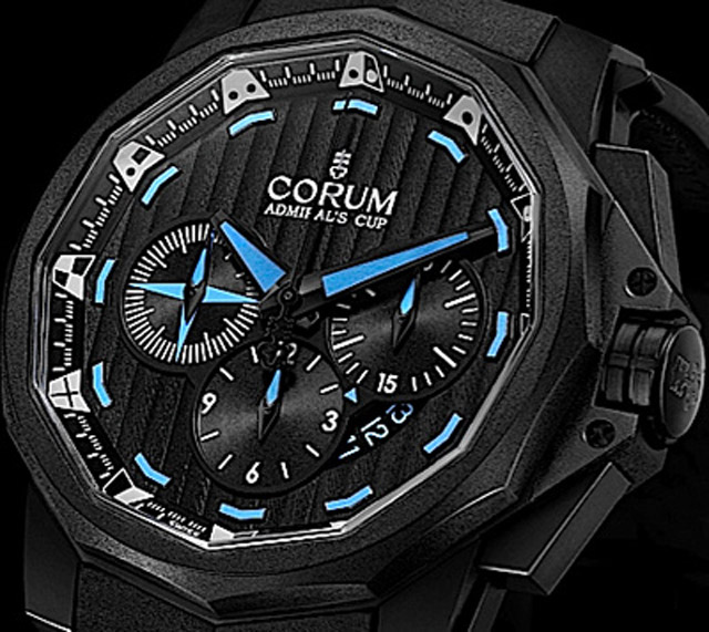 New Corum Ltd Black Flag