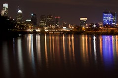 Philly Skyline at night (michaelwm25) Tags: skyline cityscape nightscene schuylkill riveretc
