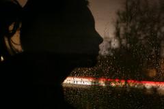 (whirschi) Tags: light shadow portrait abstract rain silhouette self dark 50mm drops long exposure