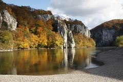 Autumn in Bavaria (mhobl) Tags: wood autumn reflection forest sony herbst center learning alpha wald spiegelung danube kelheim donau weltenburg anawesomeshot infinestyle donauradwanderweg damniwishidtakenthat