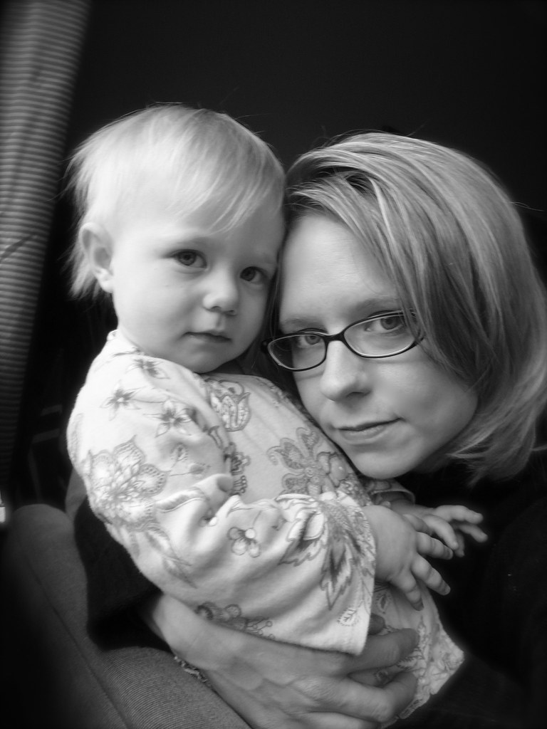 Rowan and Mom, November 2008