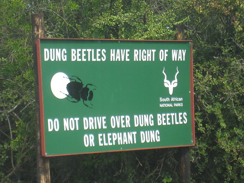 Typical signage