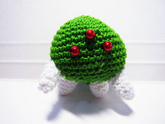 Metroid Crochet Dolls