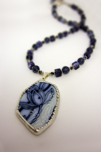 Find our jewelry and decor created from broken china at our retail site, RosesAndTeacups.com where you will find the creations of many fine artists and artisans as