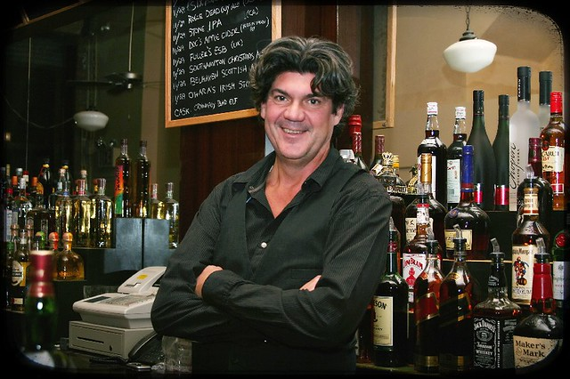 Ray Behind the Bar