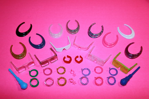 Jem doll accessories I
