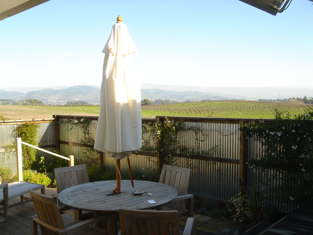 The Backyard at the Carneros Inn