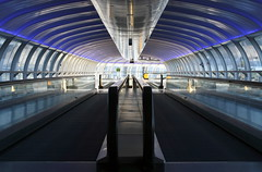 Moving Walkways at Manchester Airport