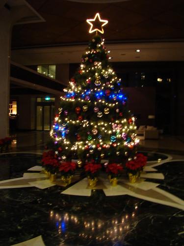 大廳的聖誕樹