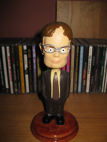 bobblehead dwightschrute
