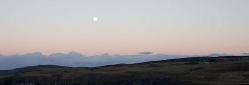 Moonrise over Lednagullin