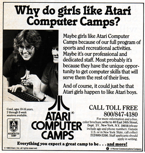 Atari Computer Camps by LauraMoncur from Flickr